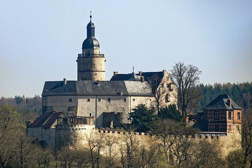 Germany, Resin, Castle Falkenstein, Castle, Tower
