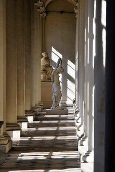 Castle Of Compiègne, France, Statue, Sculpture, History