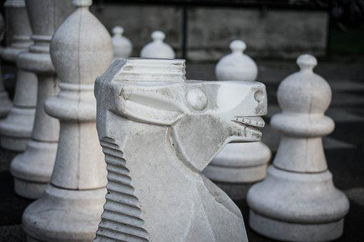 Horse, Chess, Chess Piece, Springer, Chess Board