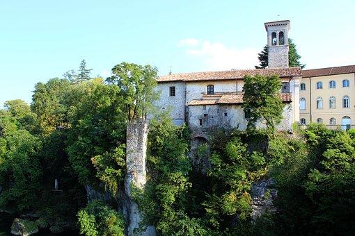 Church, The Bridge Of The Devil, Cividale, Del Friuli
