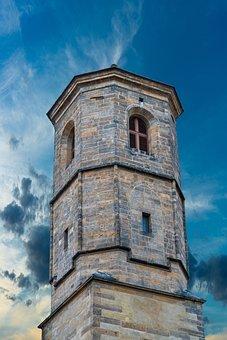 Steeple, Church, Tower, Religion, Sky, Building