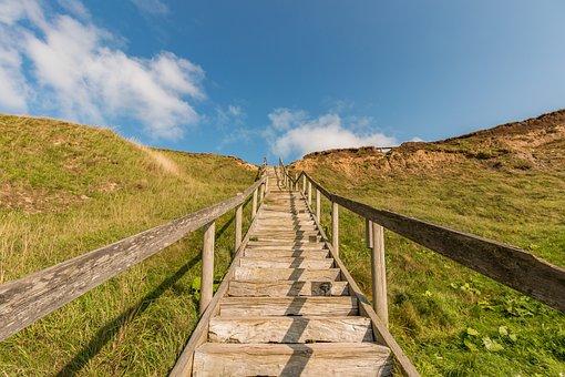 Sea, Denmark, Ocean, Coast, Landscape, Landmark, Nature