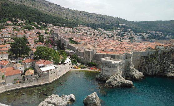 Dubrovnic, King's Landing, Croatia, Red Keep, Landscape
