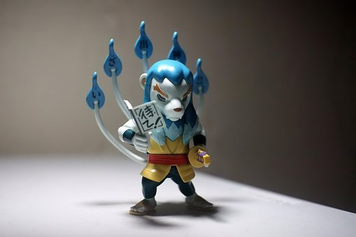 Toy, Figurine, Manojishi, Japanese, Anime, Cartoon