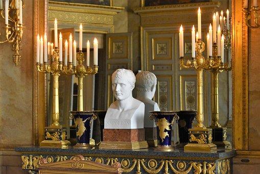Castle Of Compiègne, France, Bust, Napoleon, Sculpture