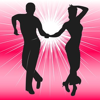 People, Couple, Girl, Dancing, Woman, Silhouette, Dance
