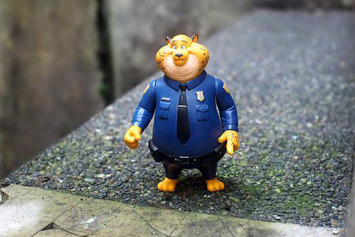 Officer, Benjamin, Claw, Hauser, Toy, Figurine, Film