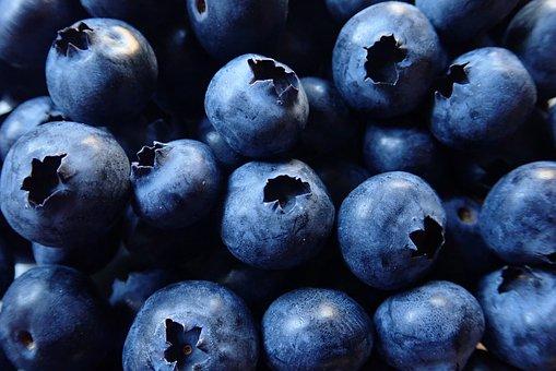 Blueberries, Fruit, Healthy, Vitamins, Organic, Food