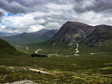 Scotland, Hiking, West Highland Way, Landscape, Nature