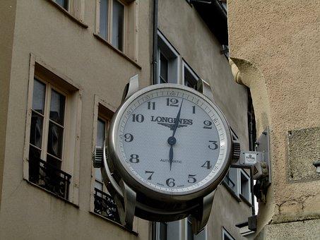 Clock, Decoration, Time, Limoges