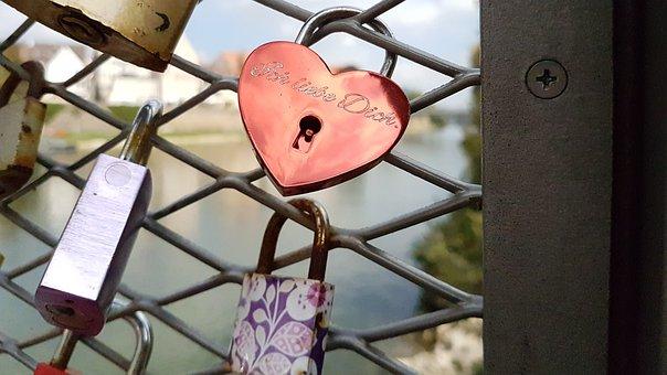 Love, Padlock, Castle
