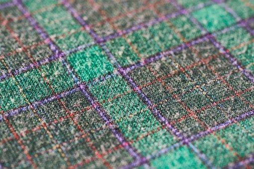 Fabric, Textile, Macro, Green, Purple, Cover, Dress