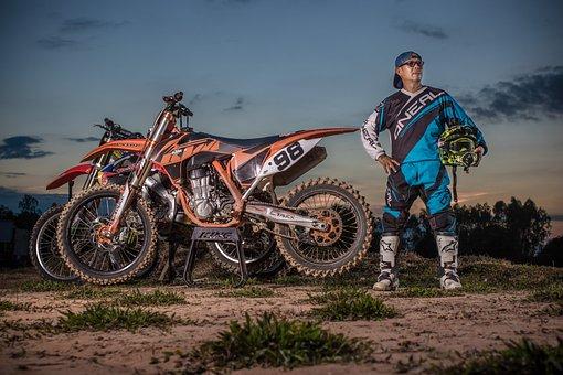 Moto, Racer, Motocross