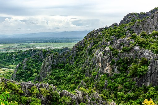 Khao Dang View Point, Mountain, Mountains, Landscape