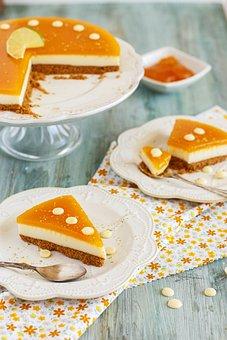 Cheese Cake, Pie, Dessert, Sweet, Home, Cheese