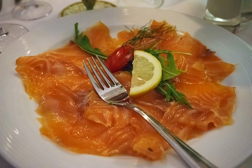 Plate, Salmon, Eat, Delicious, Food, Fish, Nutrition