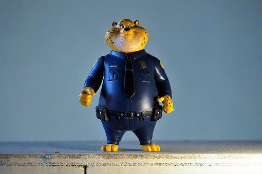 Toy, Figurine, Anime, Cartoon, Film, Character, Police