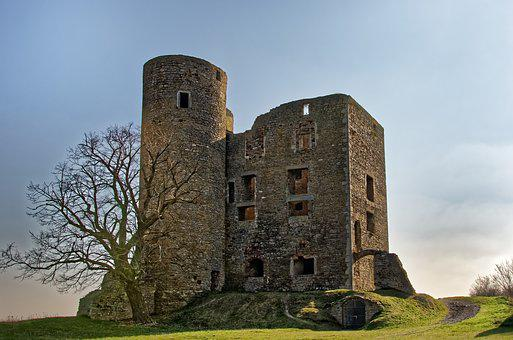 Germany, Resin, Burg Arnstein, Ruin, Castle, Tower