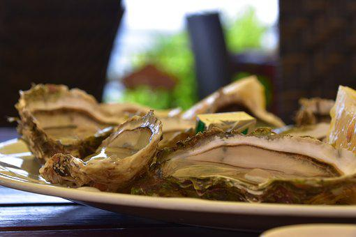 Oysters, Restaurant, Bouzigues, Sea