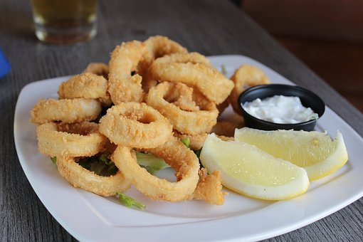 Squid, Seafood, Food, Fish, Sea, Delicious, Dish