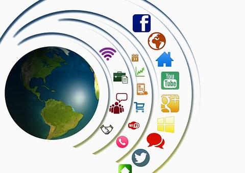 Icon, Social, Networking, Presentation, Multimedia