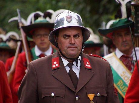 Gendarme, Guard, Soldier, Agent, Supervision, Reliable