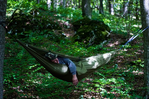 Outdoor, Hammock, Bushcraft, Survival, Stock, Trekking
