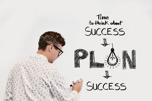 Business, Plan, Success, Successful, Profit