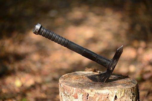 Axe, Sog, Weapons, Tomahawk, Hack, Vikings, Formidable