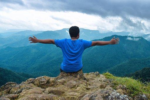 Landscape, Mountains, Tourism