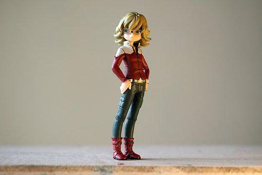 Toy, Figurine, Japanese, Anime, Cartoon, Television