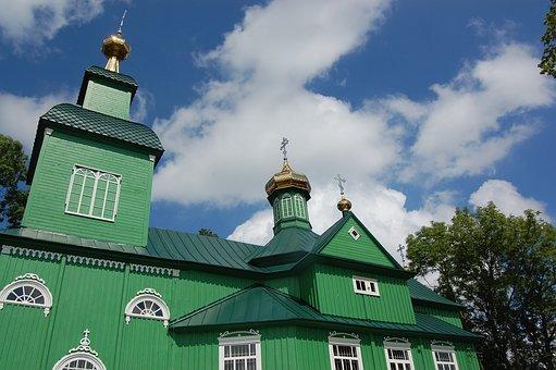 Temple, Orthodox Church, Podlasie, Architecture, Wooden