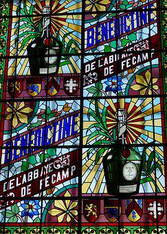 Stained Glass, Art, Window, Bénédictine