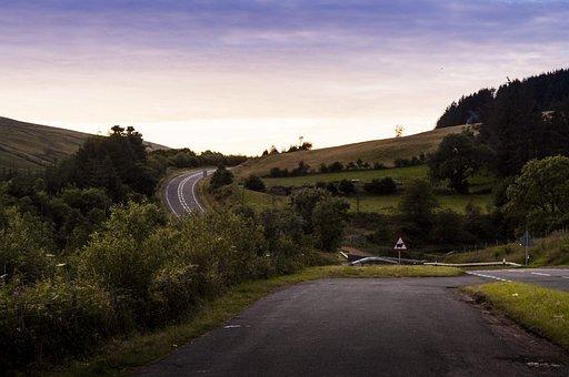 Highway, Road, Landscape, Asphalt, Travel, Sky