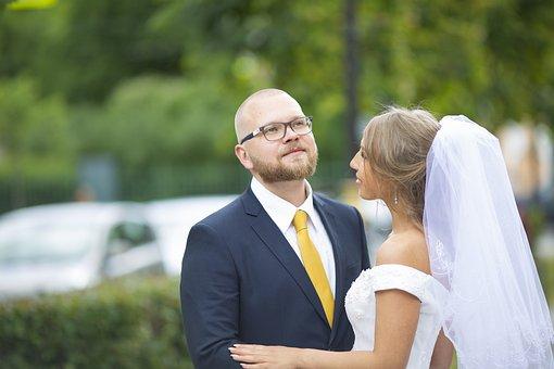 Bride, The Groom, Woman, Marriage, Man, People, Novel