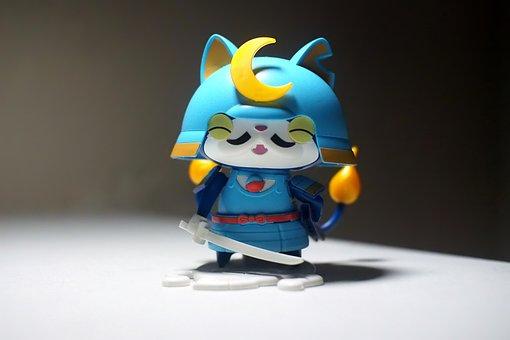 Toy, Figurine, Japanese, Anime, Cartoon, Television