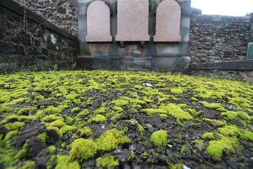 Scotland, Edinburgh, Sarcophagus, Cemetery, Old