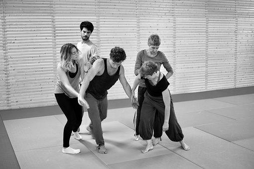 Contact Improvisation, Contact, Impro, Dance, Close