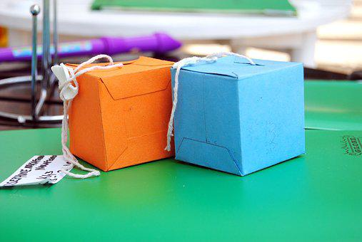 Boxes, Color, Kin, Children, Paper, Colorful