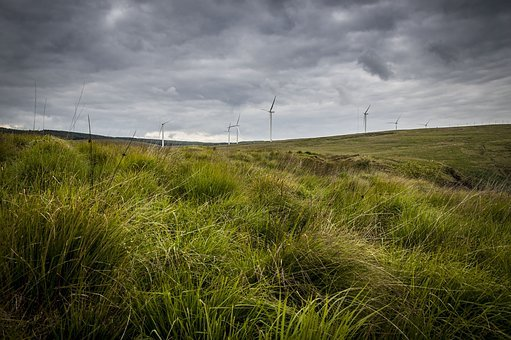 Landscape, Wind Farm, Wind Turbine, Energy, Electricity