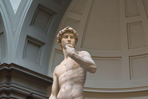 Florence, David, Italy, Statue, Michelangelo, Sculpture