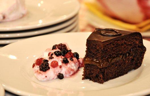 Sacher, Cake, Sweet, Taste, Food, Chocolate, Vienna
