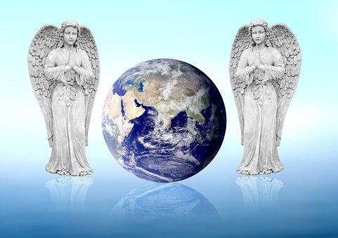 Angel, Earth, Prayer, Blessing, Hope, Bless, Gassho