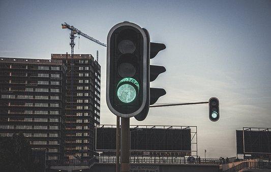 Traffic Lights, Lights, Go, Green Light, Robot, Traffic