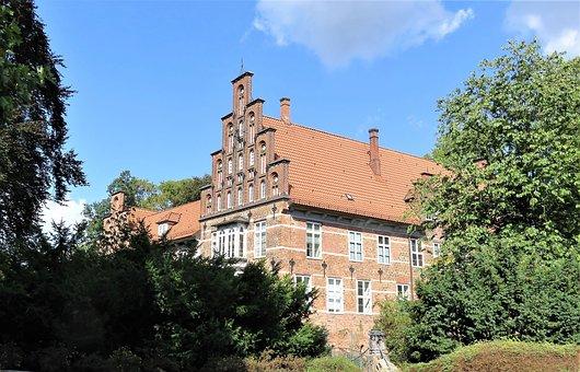 Castle, Hamburg, Mountain Village, Germany