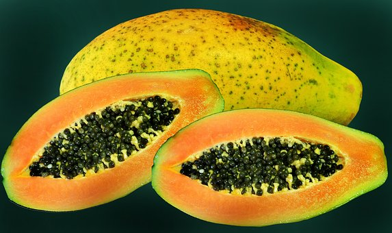 Fruit, Tropical, Red Papaya, Sweet, Healthy, Nutrition