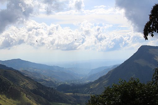 Panorama, Nature, Landscape, Sky, Clouds, Mountains