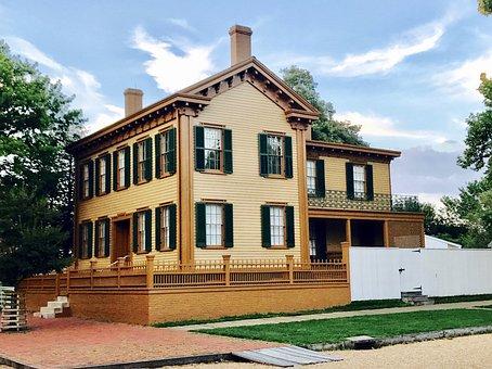 Lincoln Home, Springfield, Illinois, Abraham Lincoln
