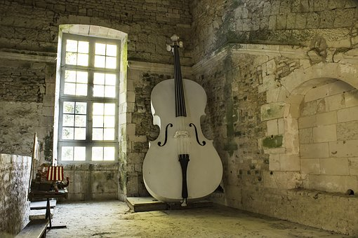Double Bass, Instrument, Music, Plan