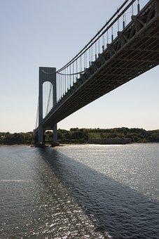 Verrazano Bridge, New York City, Bridge, Water